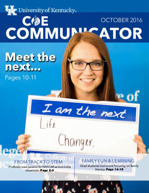 COE Communicator October 2016