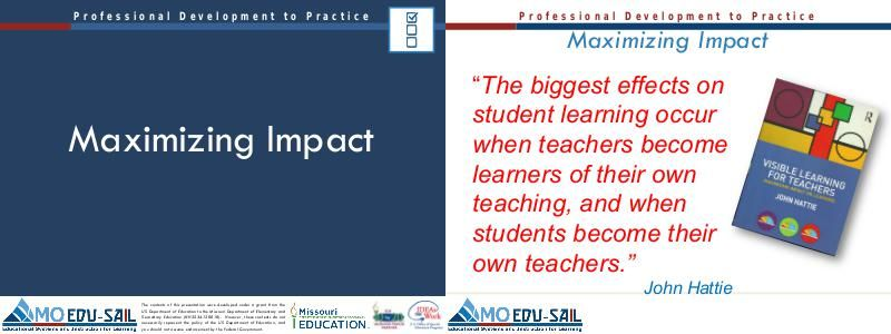 effective teaching and learning impact on Video created by the university of hong kong for the course university teaching this module focuses on a selection of established research evidence on effective university teaching in higher education for you to learn what works, what doesn't.