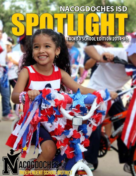 Nacogdoches ISD Spotlight Spotlight Aug. 2014