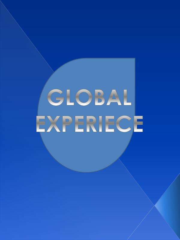 Global Experience 1