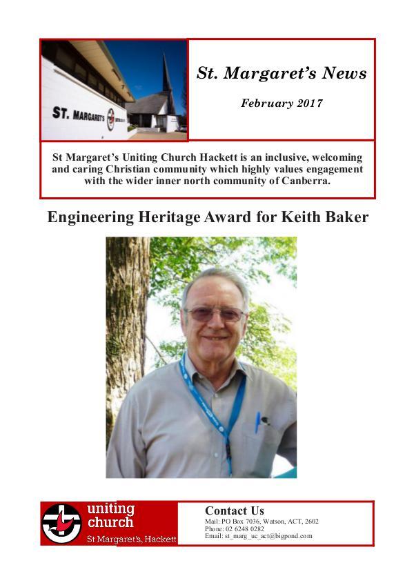 St Margaret's News February 2017