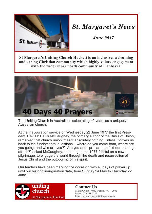 St Margaret's News June 2017