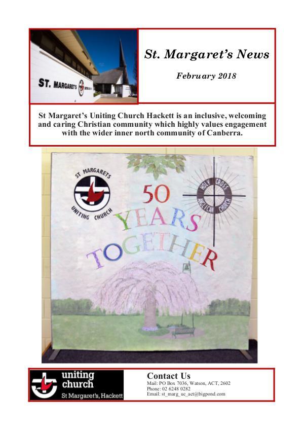 St Margaret's News February 2018