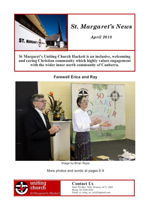 St.Marg's News 2018.04 colour