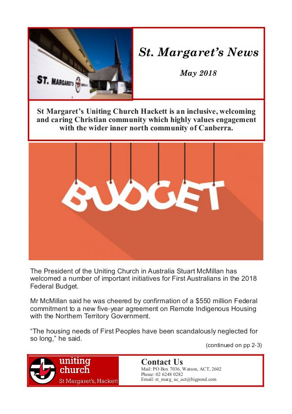 St Margaret's News May 2018