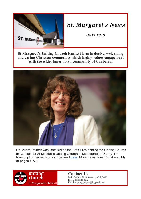 St Margaret's News July 2018