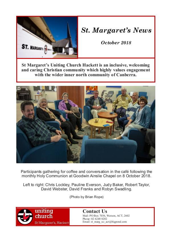 St Margaret's News October 2018