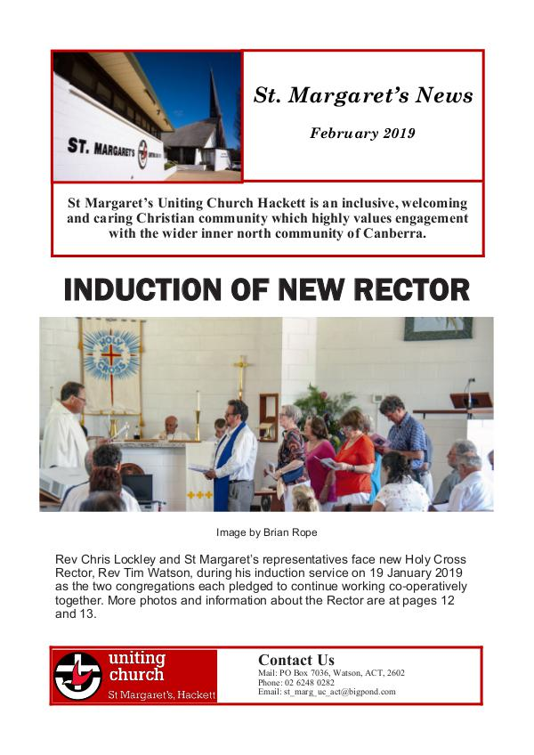St Margaret's News February 2019