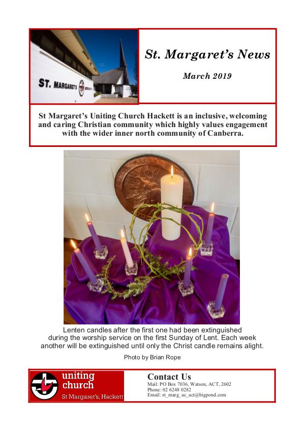 St Margaret's News March 2019