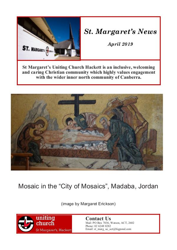 St Margaret's News April 2019