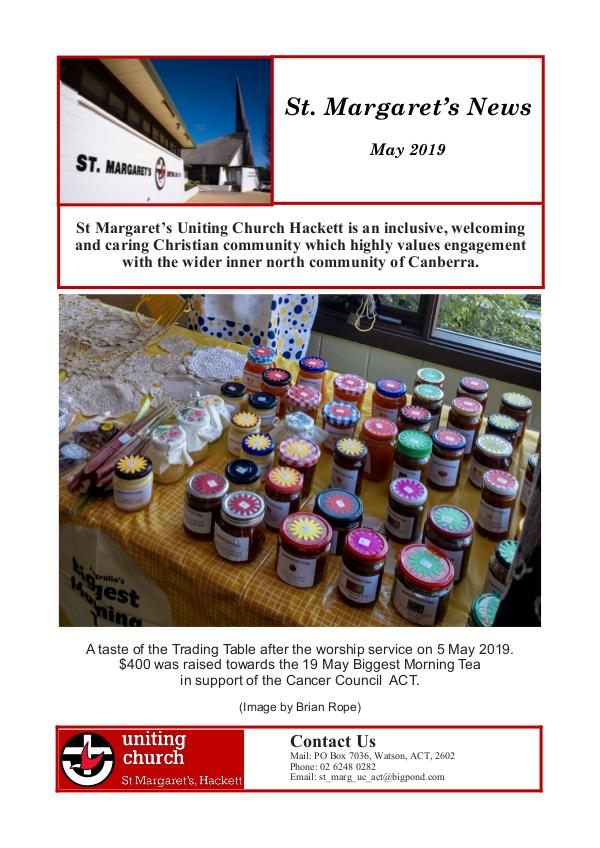 St Margaret's News May 2019