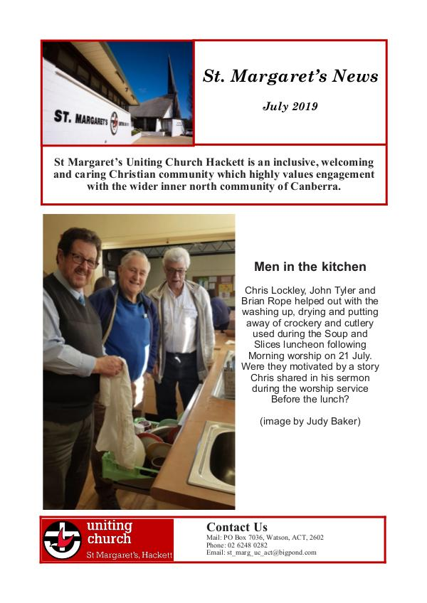 St Margaret's News July 2019