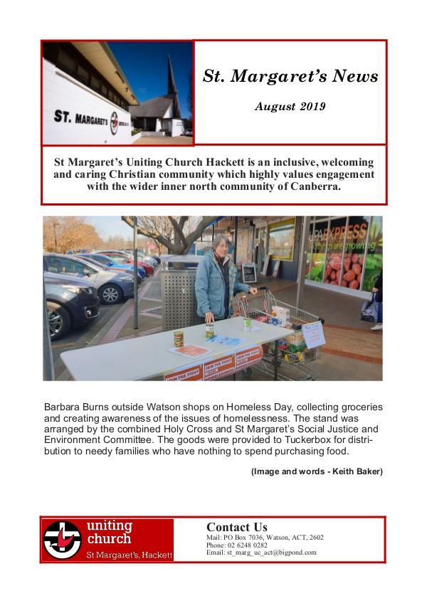 St Margaret's News August 2019