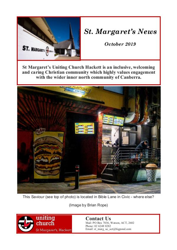 St Margaret's News October 2019