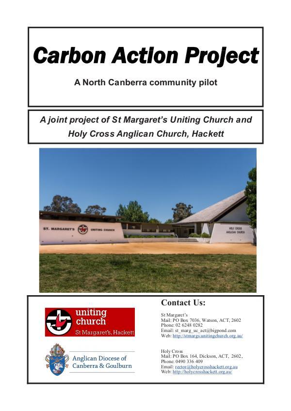 Carbon Action Project Launch Booklet