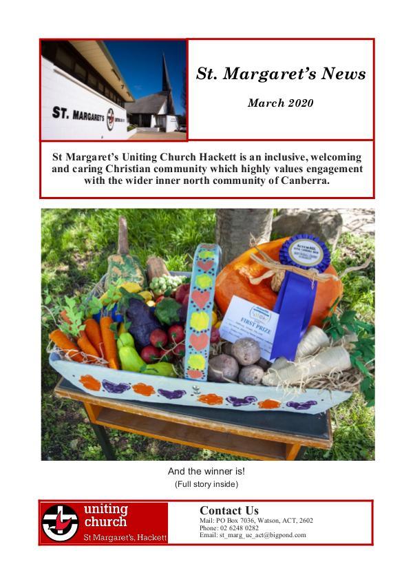St Margaret's News March 2020
