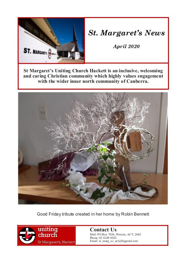 St Margaret's News April 2020