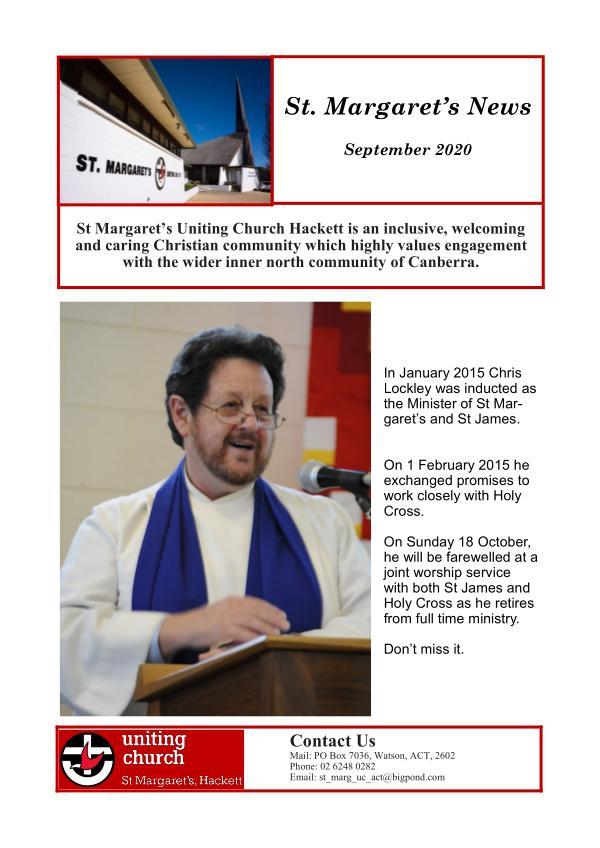 St.Margaret's News September 2020 September 2020