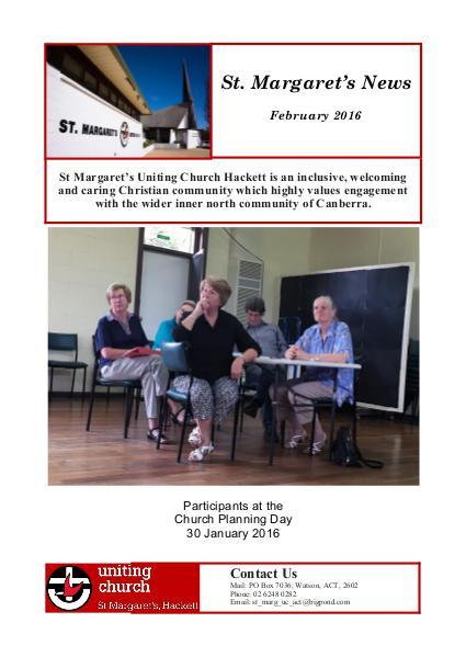 St Margaret's News February 2016