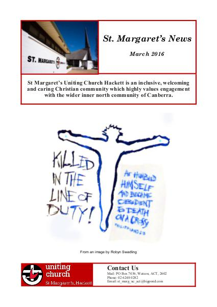 St Margaret's News March 2016