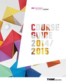 Billy Blue College of Design Course Guide