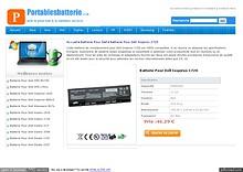 Batterie Pour Dell Inspiron 1720