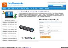 Batterie Pour Toshiba Qosmio F60-10J