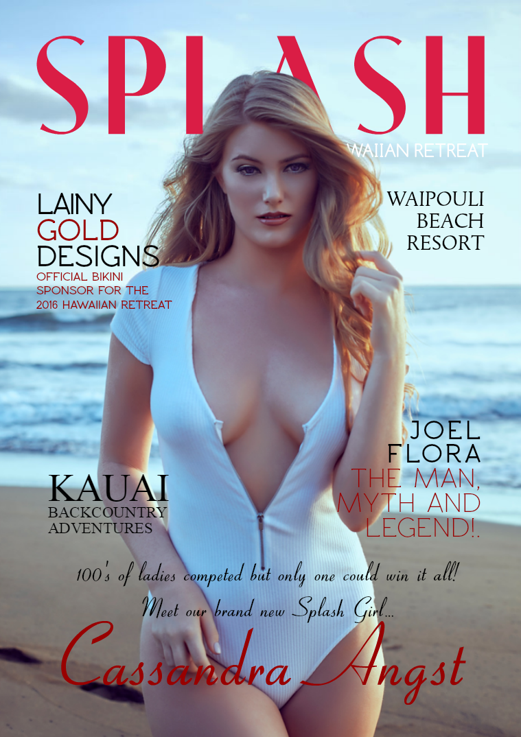 A Splash Of Hotness Special Edition - Hawaii