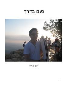 Noam on Seminar ~ Summer 2014