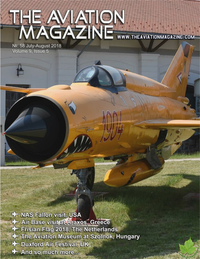 The Aviation Magazine No 58 July-August edition of The Aviation Magazine