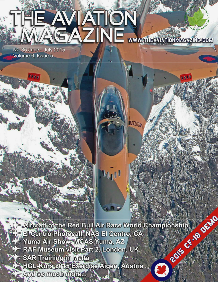 The Aviation Magazine Volume 6, Issue 5, June-July 2015