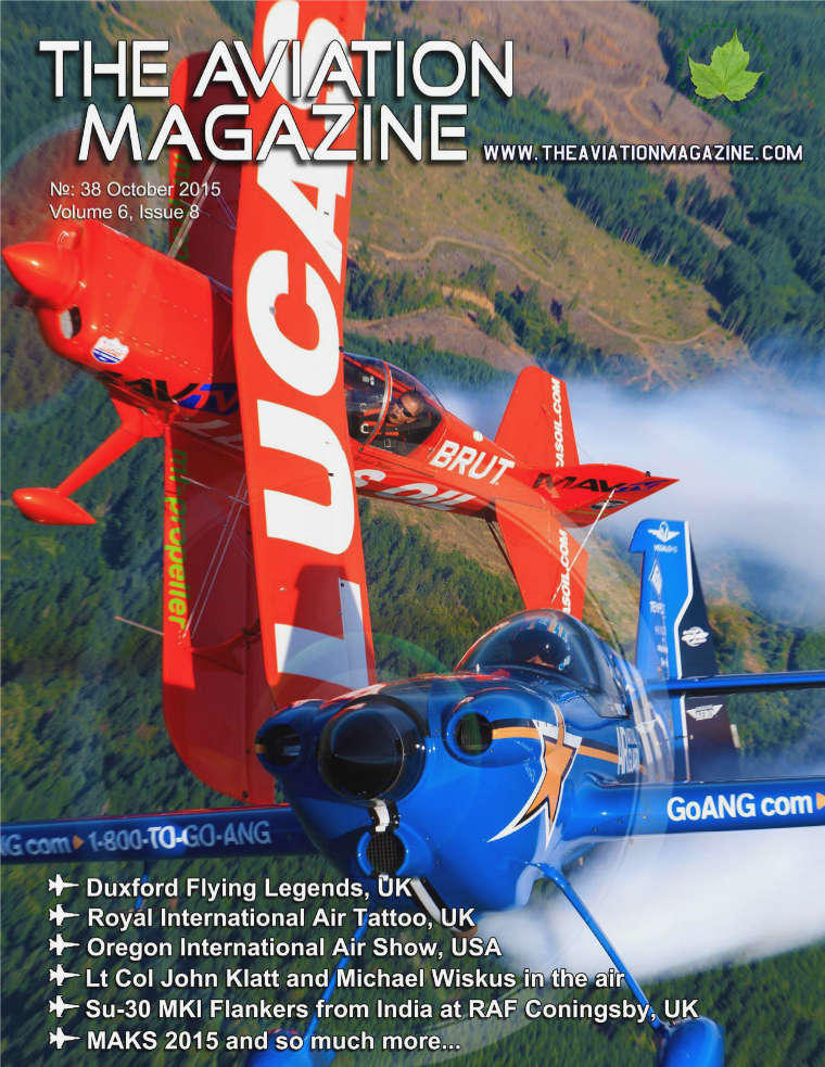 The Aviation Magazine Volume 6, Issue 8, No#38 October 2015