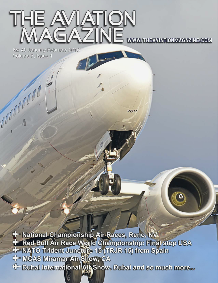 The Aviation Magazine Volume 7, Issue 1 #40 Jan-Feb 2016