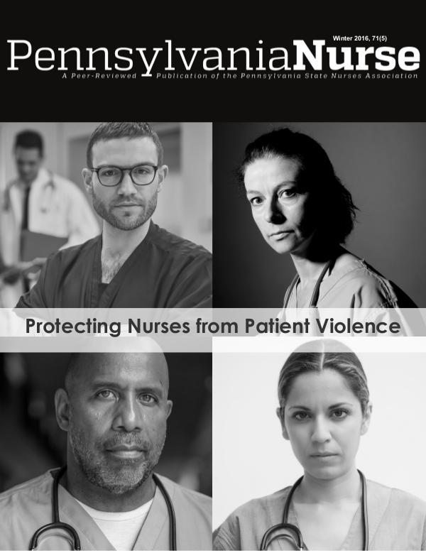 Pennsylvania Nurse Members 71(5)