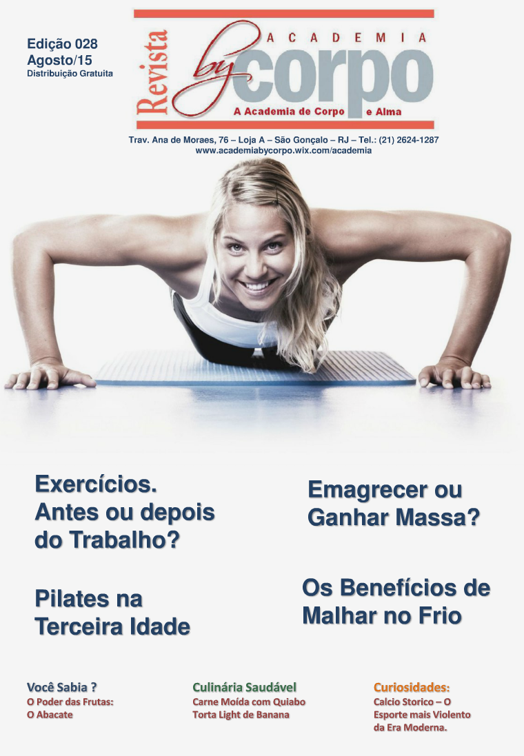 Revista By Corpo - Agosto-15 - Edição 28