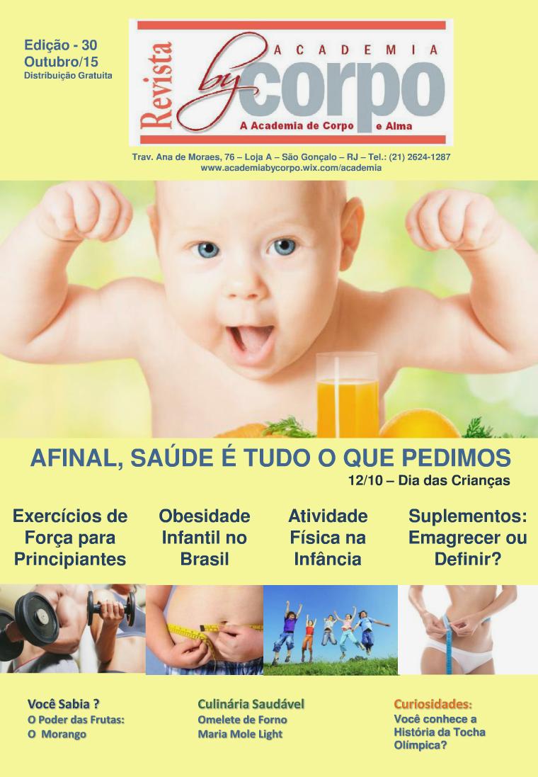 Revista By Corpo- Outubro 2015 - Edição 30