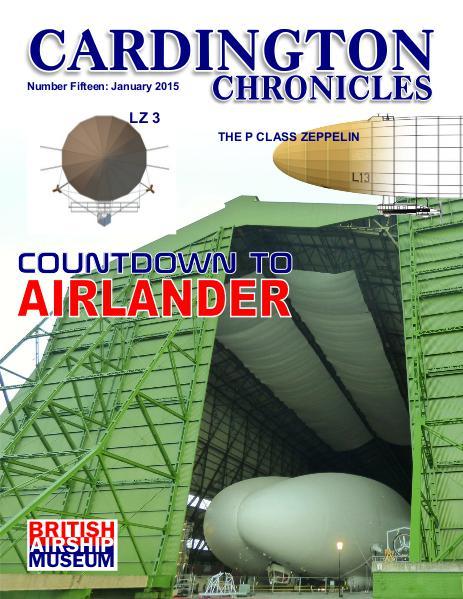 Cardington Chronicles No 15  Jan 16