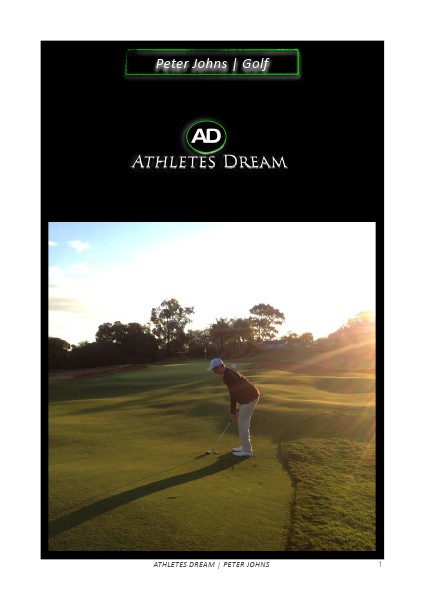 Athletes Dream Peter Johns | Golf