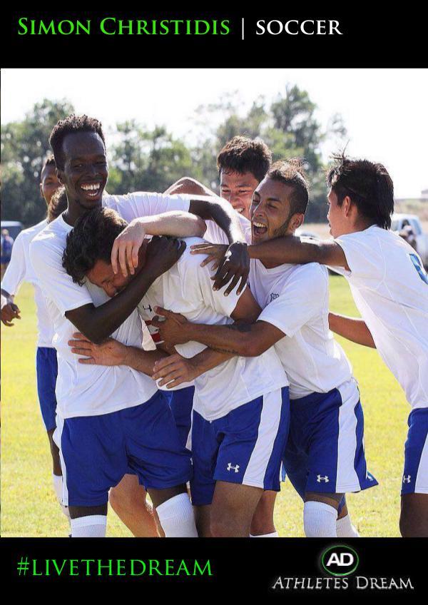 Athletes Dream Simon Christidis   Soccer