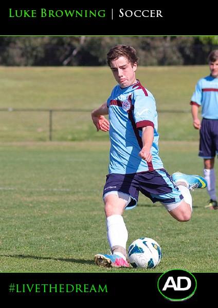 Luke Browning | Soccer