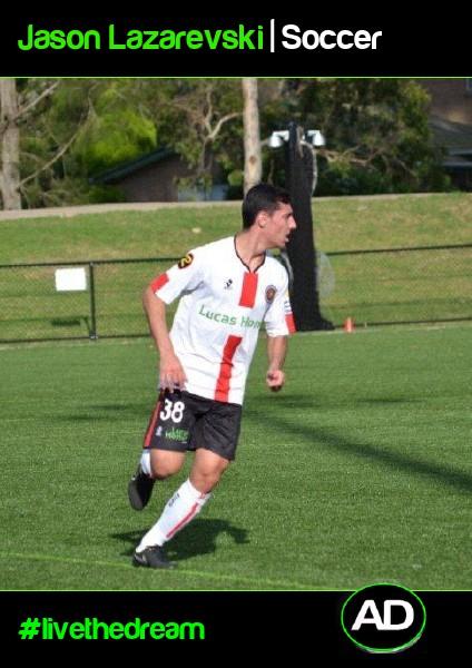 Jason Lazarevski | Soccer