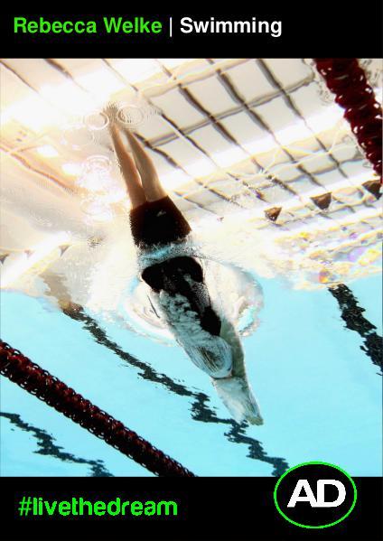 Athletes Dream Rebecca Welke | Swimming
