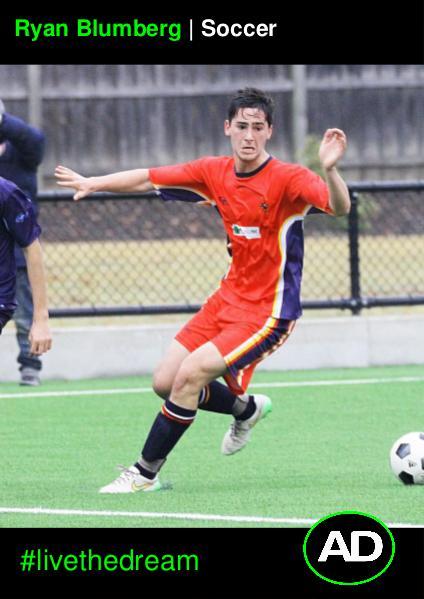 Athletes Dream Ryan Blumberg | Soccer