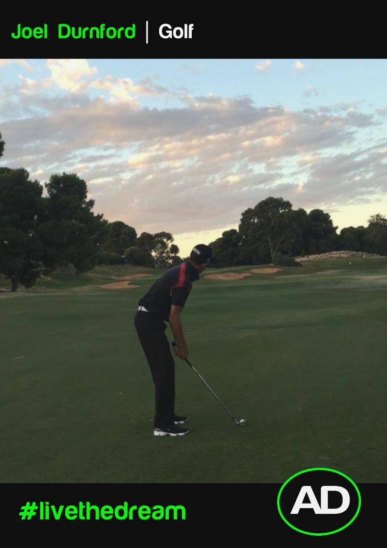 Joel Durnford   Golf