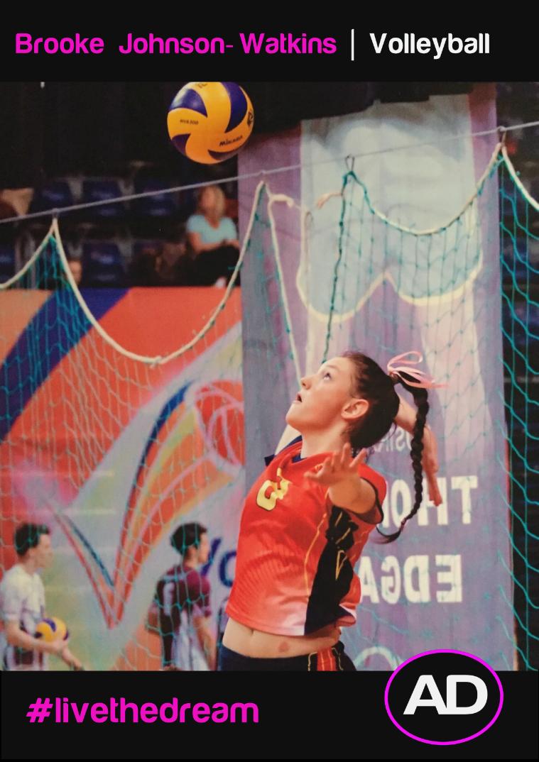 Brooke Johnson-Watkins   Volleyball