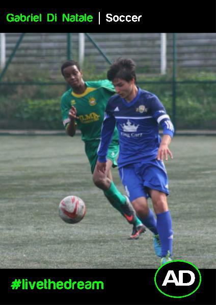 Athletes Dream Gabriel Di Natale   Soccer