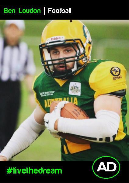 Athletes Dream Ben Loudon | Football
