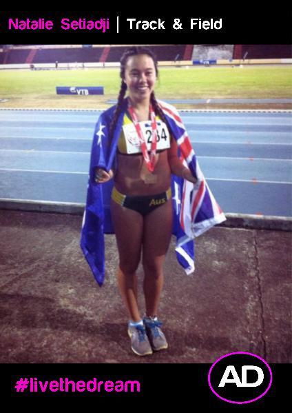 Athletes Dream Natalie Setiadji | Track