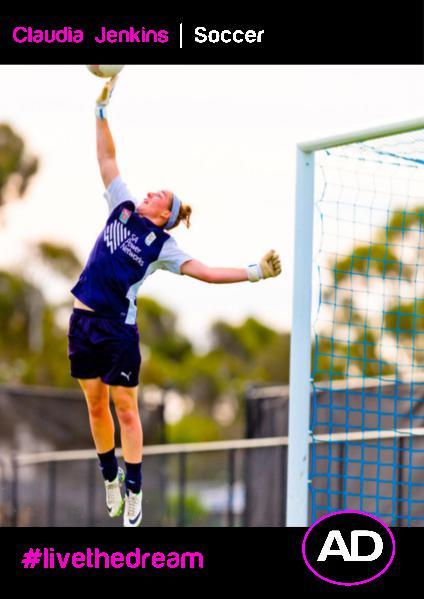 Athletes Dream Claudia Jenkins | Soccer
