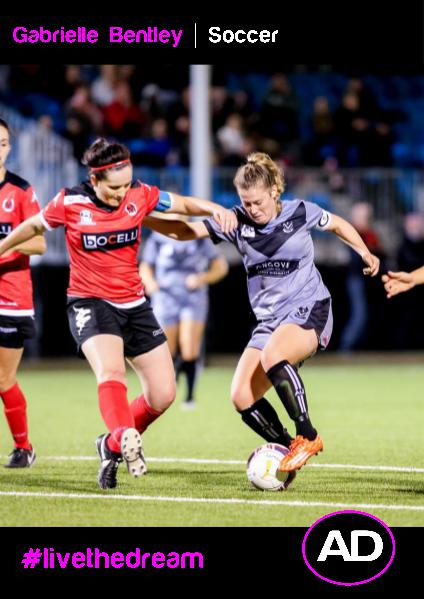 Athletes Dream Gabrielle Bentley | Soccer